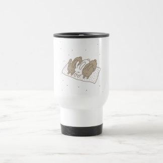 Stay warm stainless steel travel mug