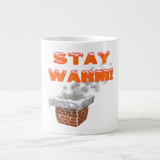 Stay Warm Jumbo Mug