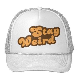 Stay Weird Mesh Hats