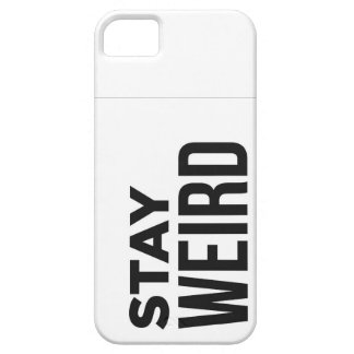 Stay Weird iPhone 5 Cover