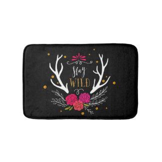 Stay Wild Bath Mats