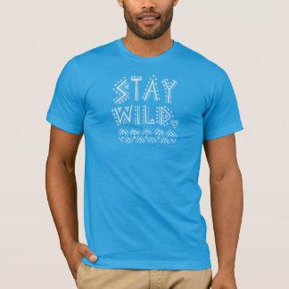 STAY WILD Boho Watercolor T-Shirt