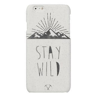 STAY WILD iPhone 6 PLUS CASE