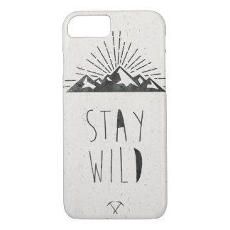STAY WILD iPhone 8/7 CASE
