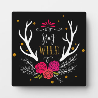 Stay Wild Photo Plaques