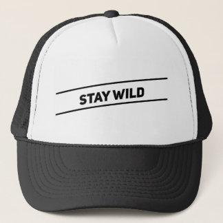 Stay Wild Trucker Trucker Hat