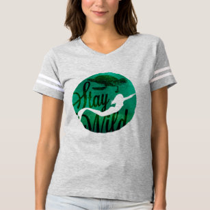 """""""Stay Wild"""" with Mermaid and Sea Turtle T-Shirt"""