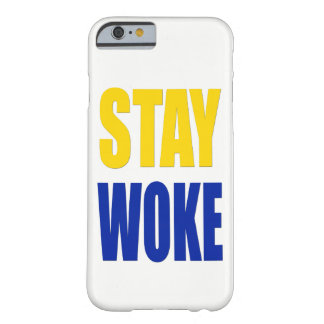 Stay Woke iPhone Case - White
