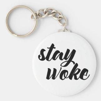 Stay Woke Key Ring