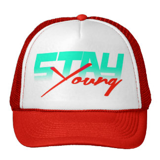 Stay Young (red) Cap