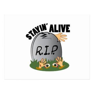Stayin Alive Postcard