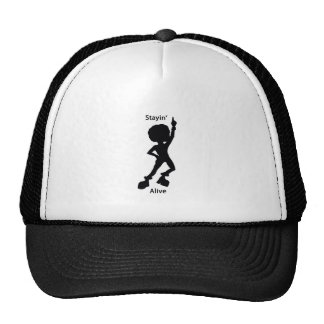 Staying alive trucker hat