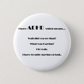 staying on task.pdf 6 cm round badge