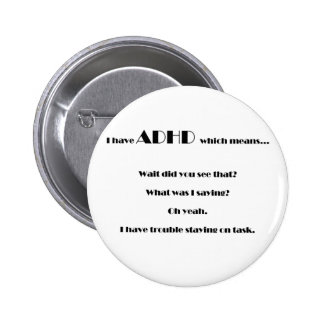 staying on task.pdf 6 cm round badge