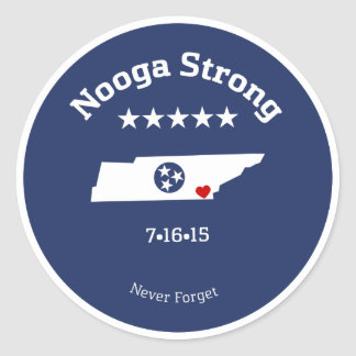 Staying Strong in the 'Noog Round Sticker