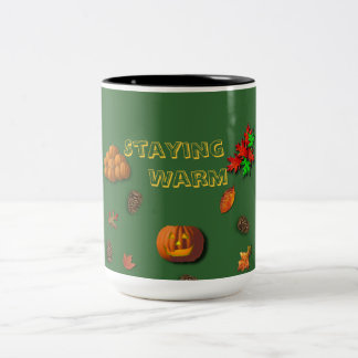 Staying Warm For Fall Mug