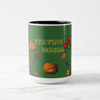 Staying Warm For Fall Mug