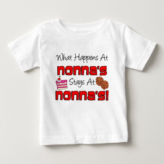 Stays At Nonna's Baby T-Shirt