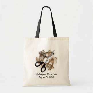 Stays At Salon Canvas Bags