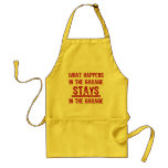 Stays In The Garage Apron