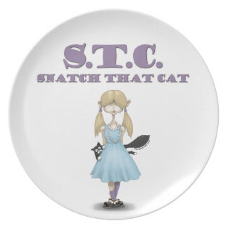 STC: Snatch That Cat plate Susie