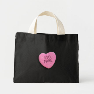 STD FREE CANDY -.png Canvas Bags