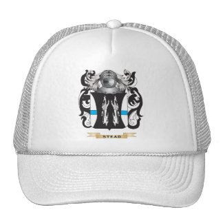 Stead Coat of Arms Family Crest Trucker Hat