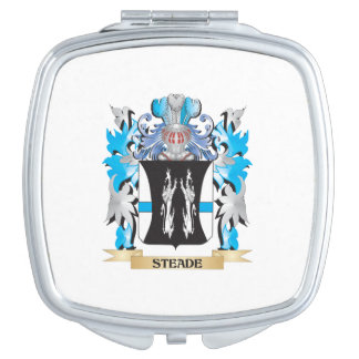 Steade Coat of Arms - Family Crest Travel Mirror