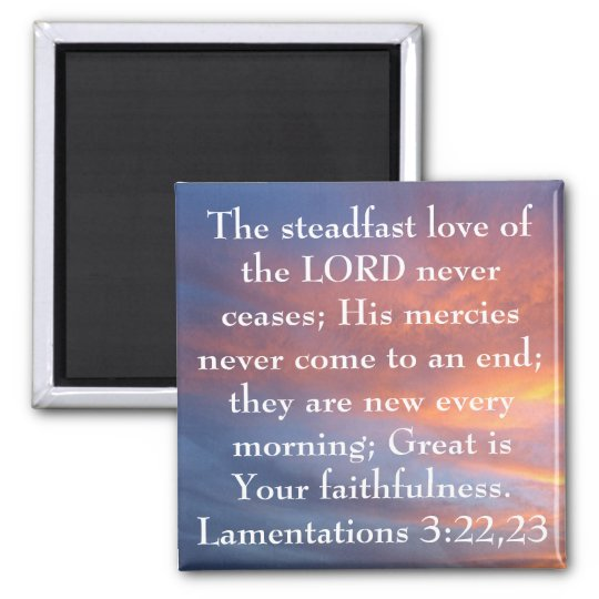 steadfast love of the Lord bible verse sunrise