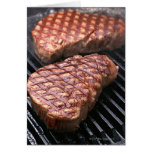 Steak 2 greeting card