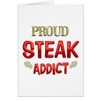 Steak Addict Card