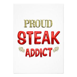 Steak Addict Custom Announcement