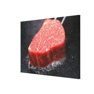Steak Canvas Print