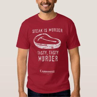 Steak is Murder! T Shirt