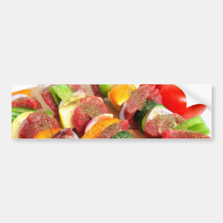 Steak Kabob Bumper Sticker