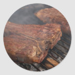 Steaks Grilling Barbecue Grills Meat Stickers