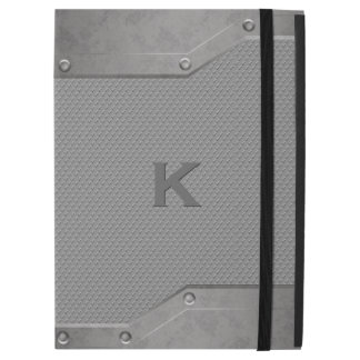 Steal and Graphite Look iPad Pro Folio Case