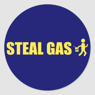 Steal Gas Stickers