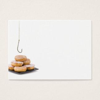 Stealing a doughnut business card