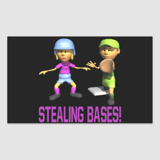 Stealing Bases Sticker
