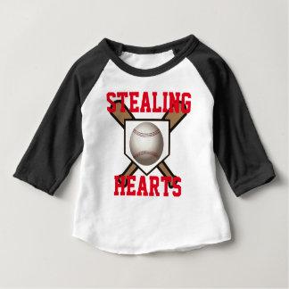 Stealing Hearts Baseball Tee