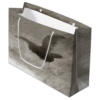 Stealth And Surprise Of The Night Owl Large Gift Bag