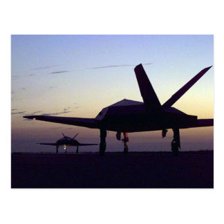 Stealth Fighter Postcard
