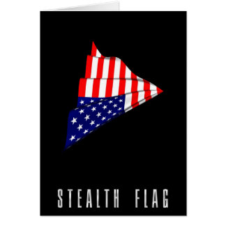 Stealth Flag Greeting Card