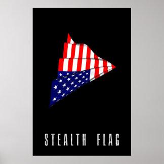 STEALTH FLAG POSTER