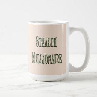 Stealth Millionaire Basic White Mug