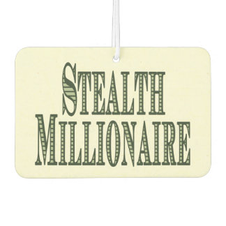 Stealth Millionaire Car Air Freshener