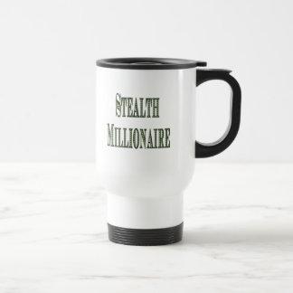 Stealth Millionaire Stainless Steel Travel Mug
