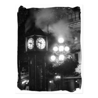 Steam Clock, Gastown Postcard