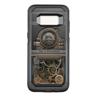 Steam Engine.Age of Steampunk. OtterBox Commuter Samsung Galaxy S8 Case